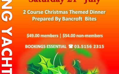 Christmas in July, Saturday 21st July